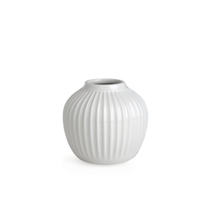 Hammershøi Vase H 12,5 cm from Kähler Design in White