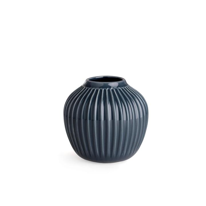 Hammershøi Vase H 12,5 cm from Kähler Design in Anthracite