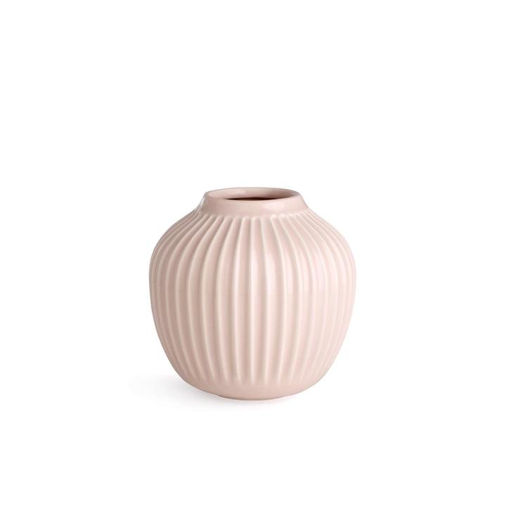 Hammershøi Vase H 12,5 cm from Kähler Design in Rose