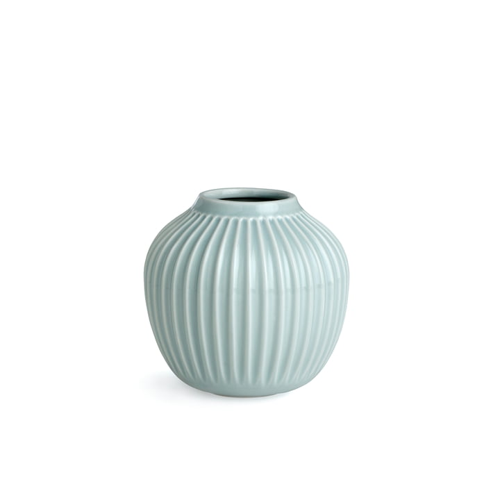 Hammershøi Vase H 12,5 cm from Kähler Design in Mint