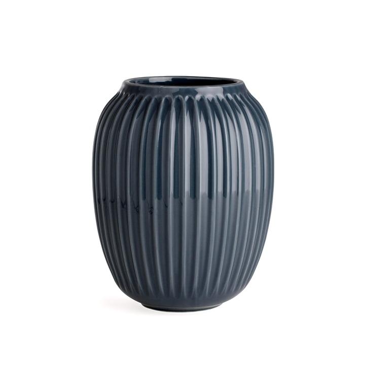 Hammershøi Vase H 20 cm from Kähler Design in Anthracite