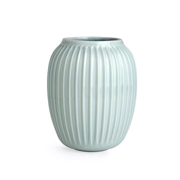 Hammershøi Vase H 20 cm from Kähler Design in Mint