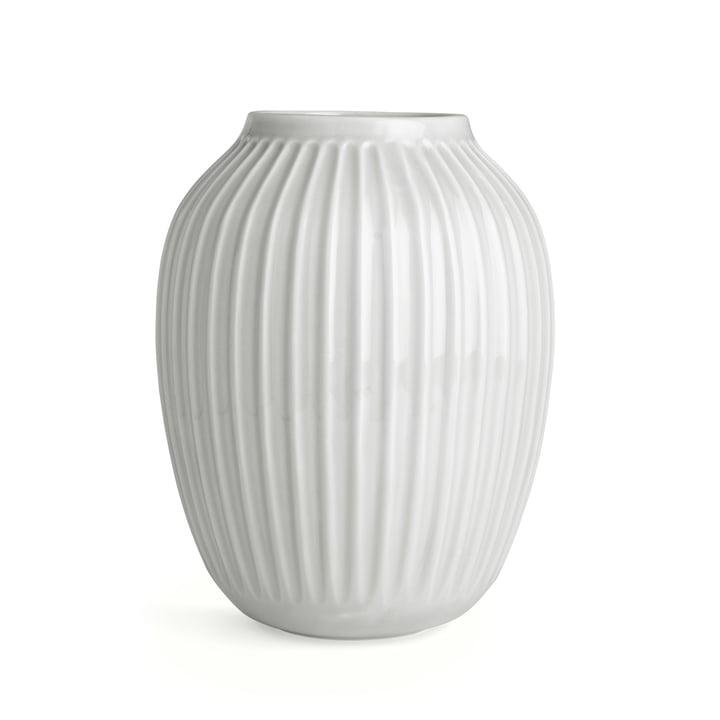 Hammershøi Vase H 25 cm from Kähler Design in White