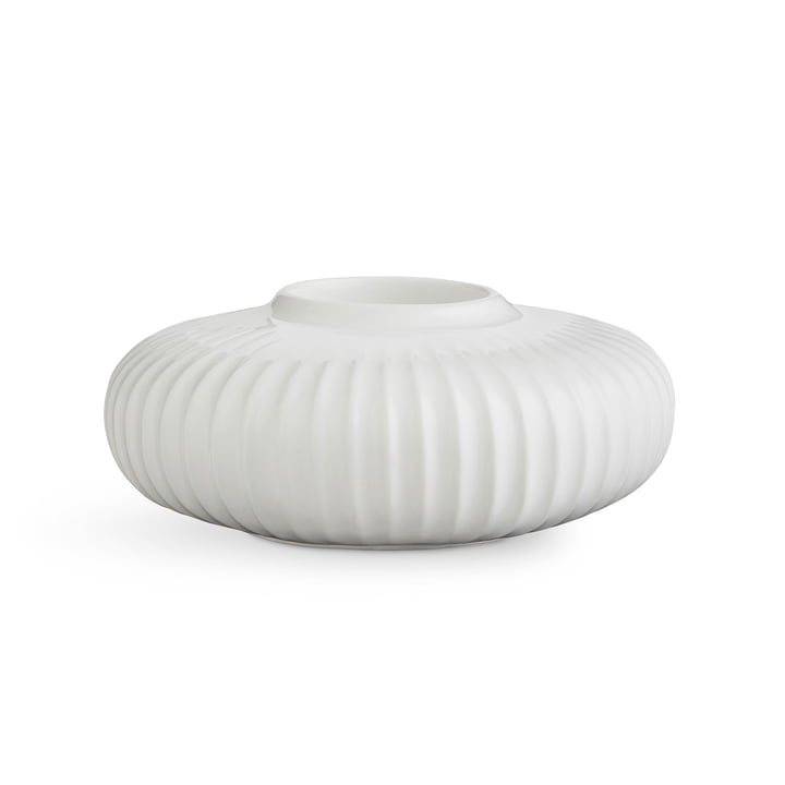 Kähler Design - Hammershøi Tealight Holder H 5 cm, white
