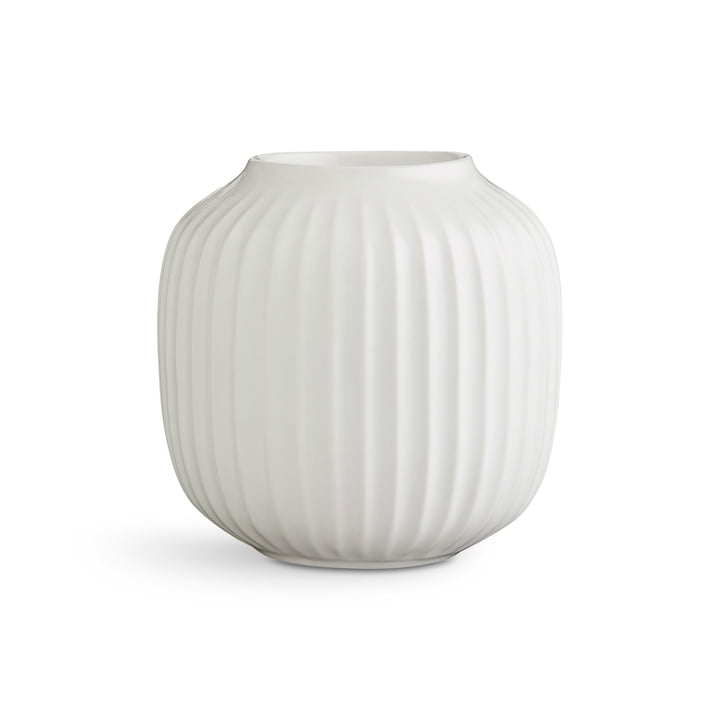 Kähler Design - Hammershøi Tealight Holder H 9 cm, white