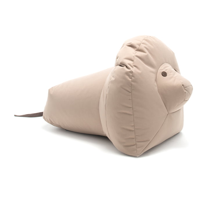 Isolated product image of the Happy Zoo soft toy by Sitting Bull in beige.