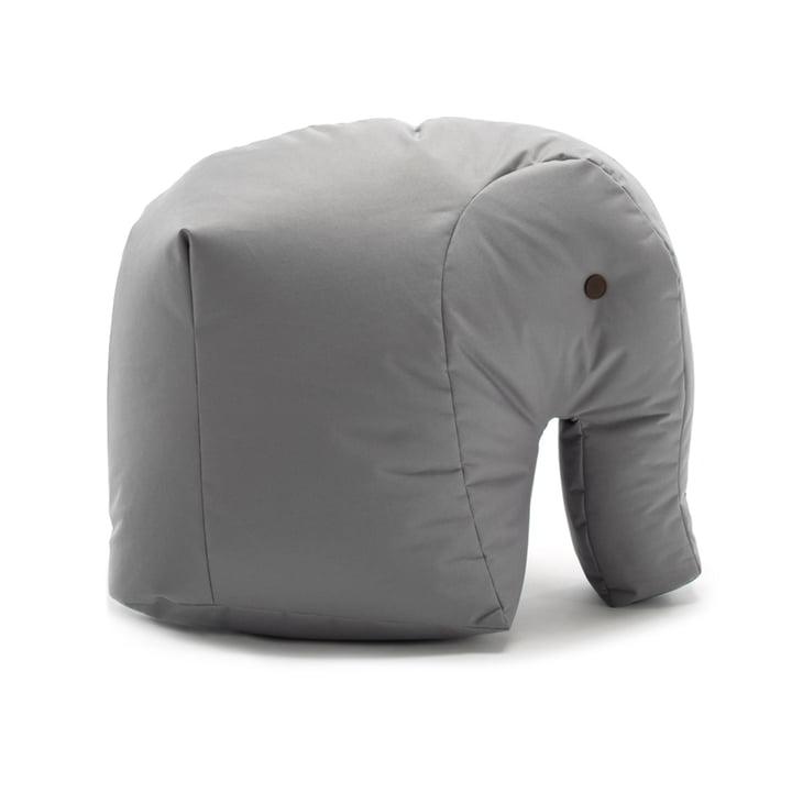 Happy Zoo Soft Toy Carl by Sitting Bull in Grey