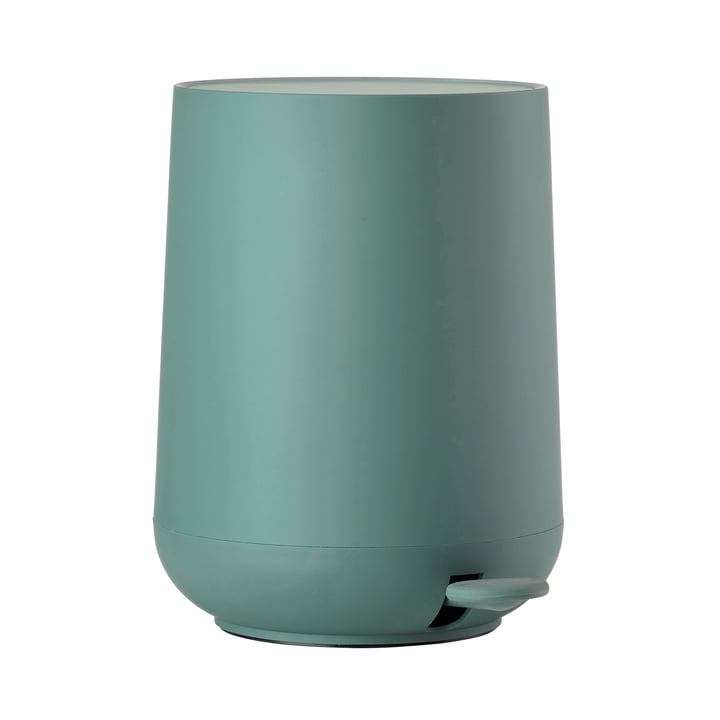 Nova Pedal Bin 5 L by Zone Denmark in Petrol Green