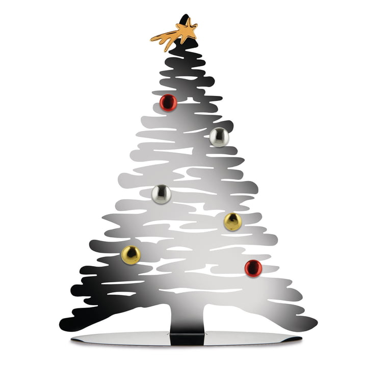 Bark for Christmas of Alessi in silver