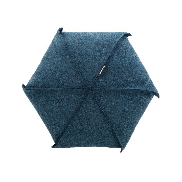 179 Cushions Ø 48 cm by Freistil in Green Blue (7406)