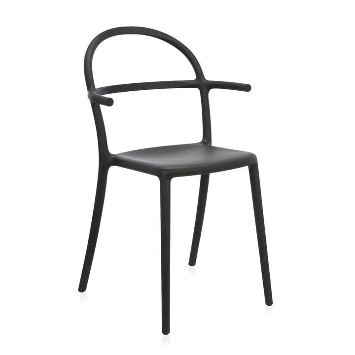 Kartell - Generic C Chair, black