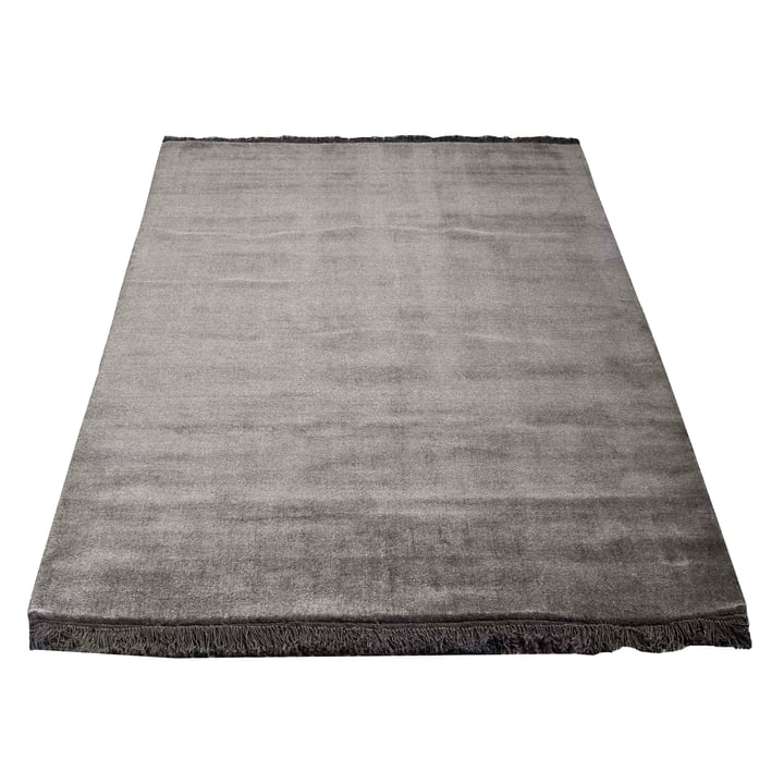 Earth Bamboo Rug 170 x 240 cm by Massimo in Charcoal