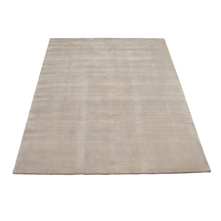 Earth Bamboo Rug 170 x 240 cm by Massimo in Soft Grey