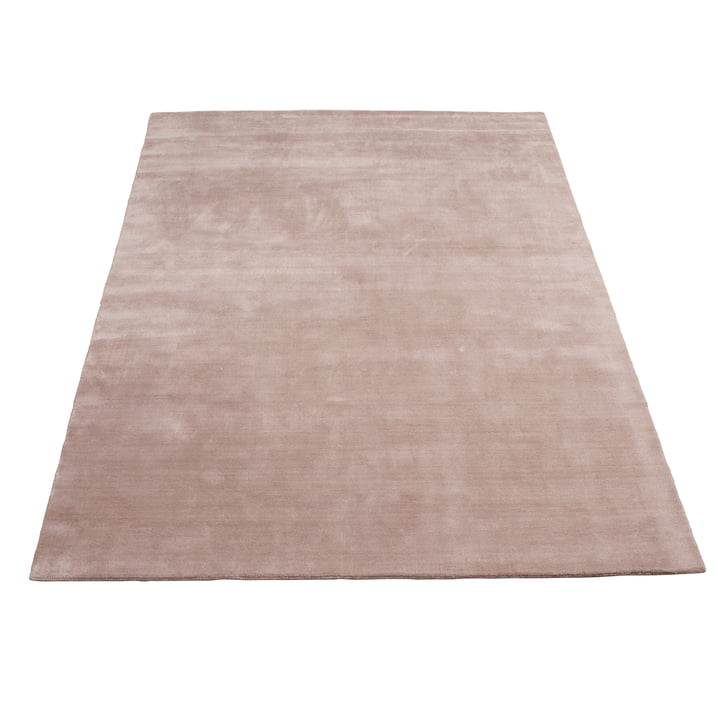 Earth Bamboo Rug 200 x 300 cm by Massimo in Nougat Pink