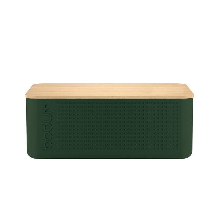 Bodum - Bistro Bread Bin, dark green