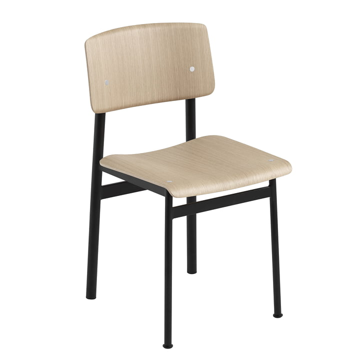 Loft Chair by Muuto in Oak / Black