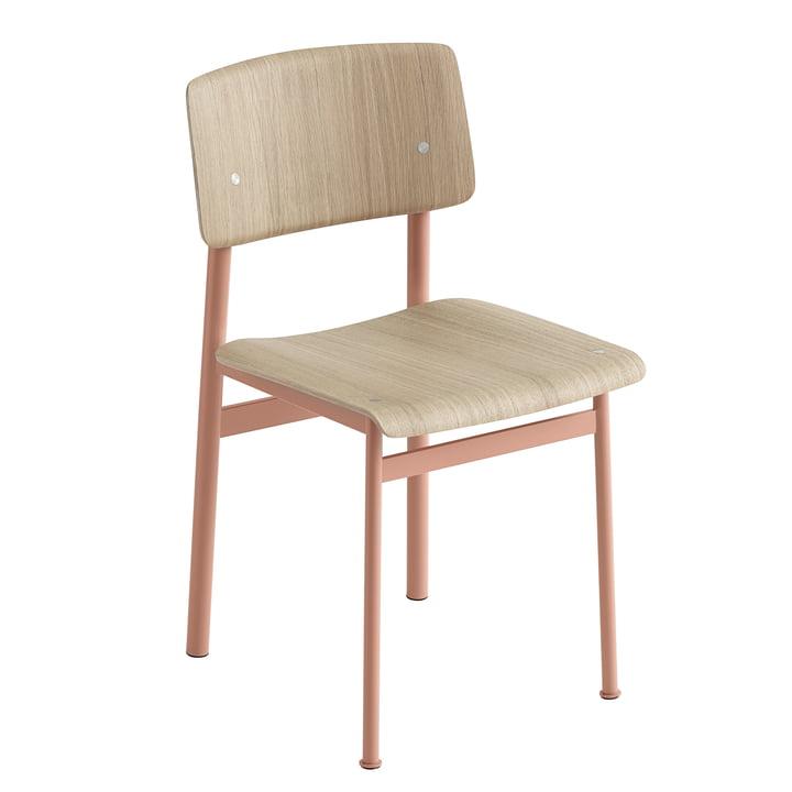 Loft Chair by Muuto in Oak / Dusty Rose