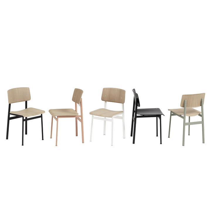 Loft Chair by Muuto in Different Versions