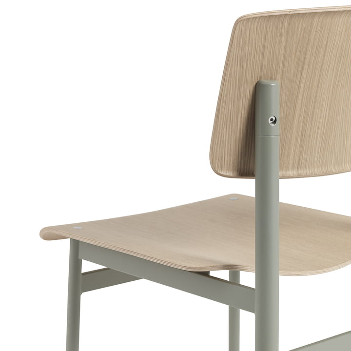 Loft Chair by Muuto in Dusty Green