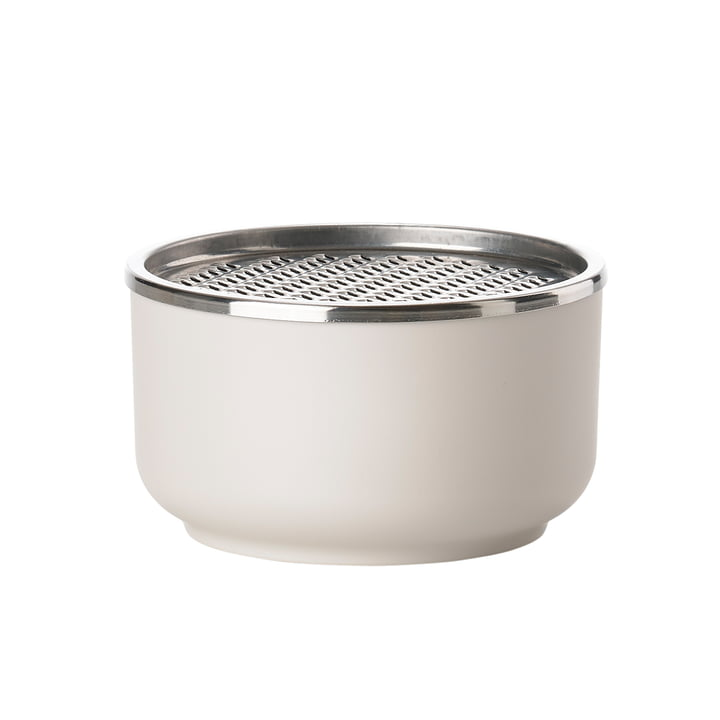 The Zone Denmark - Peili Bowl with Grater in Warm Grey