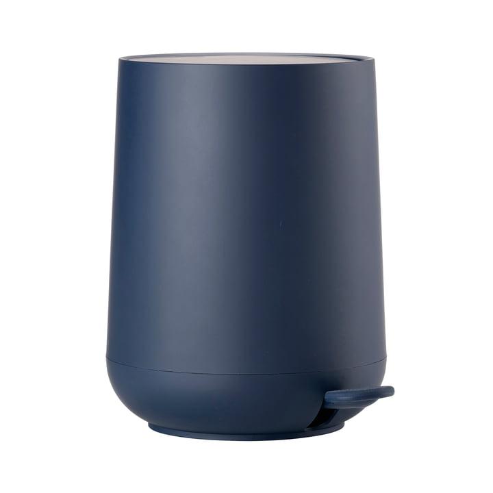 Nova Pedal Bin 5 L by Zone Denmark in Royal Blue