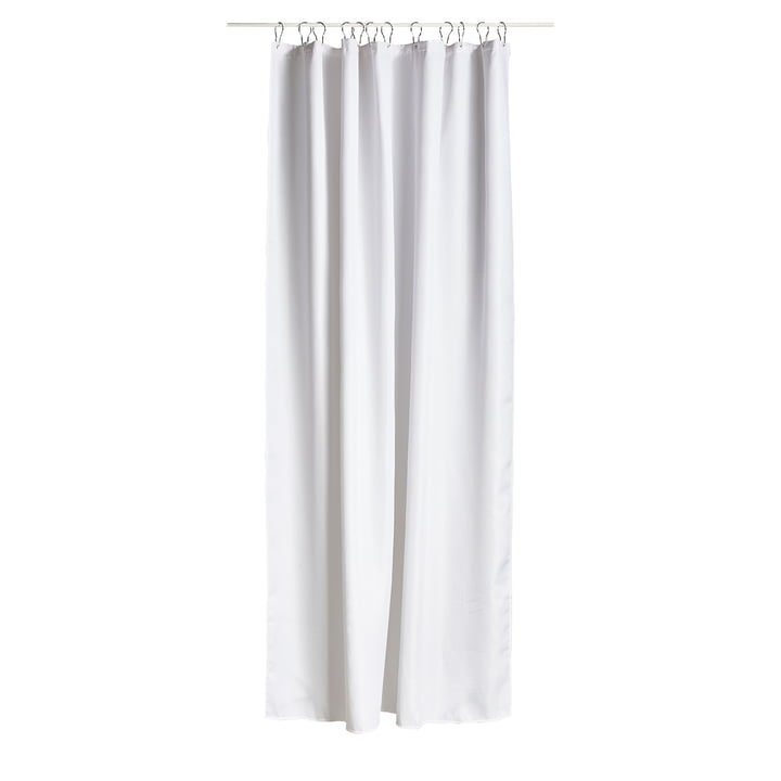 The Zone Denmark - Lux Shower Curtain in White
