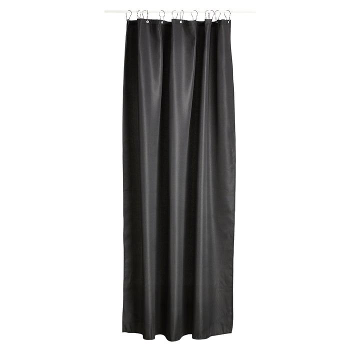 The Zone Denmark - Lux Shower Curtain in Black