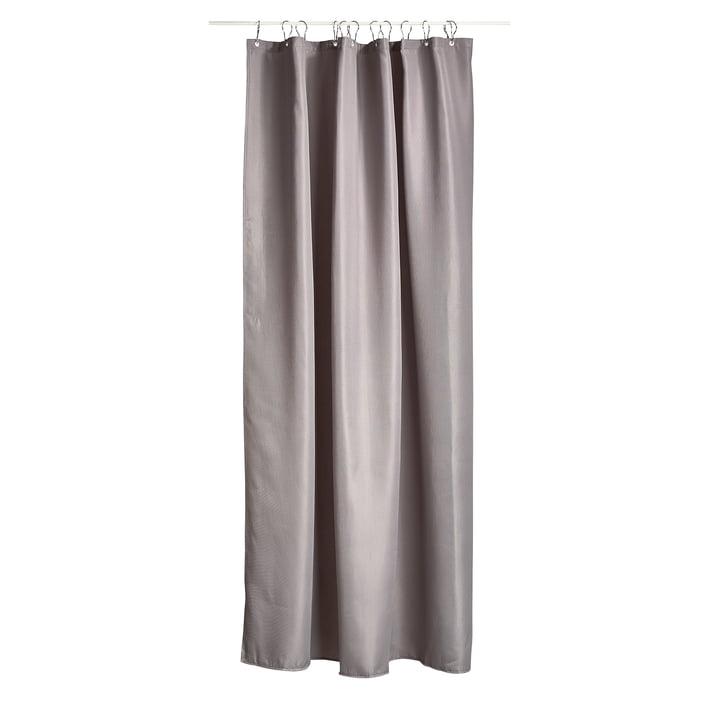 The Zone Denmark - Lux Shower Curtain in Grey