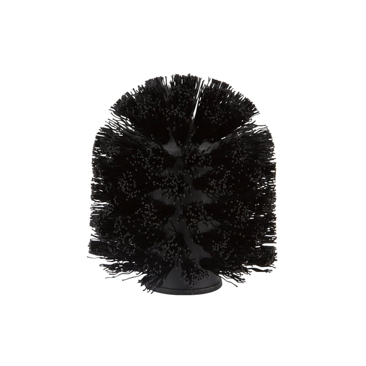 Replacement brush for toilet brush from Zone Denmark in black