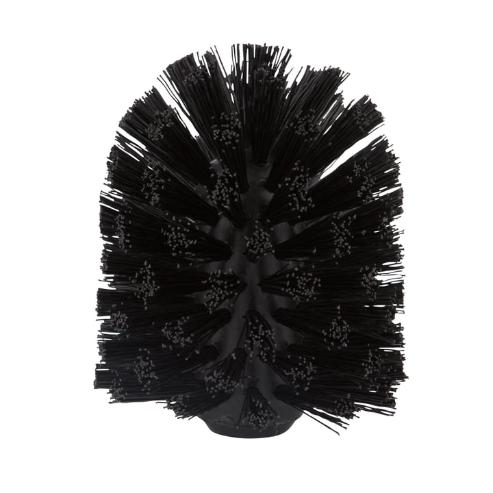 Zone Denmark - Replacement Brush for Cylinder / Nova / Saxo / Nova One / Solo Toilet Brushes in Black