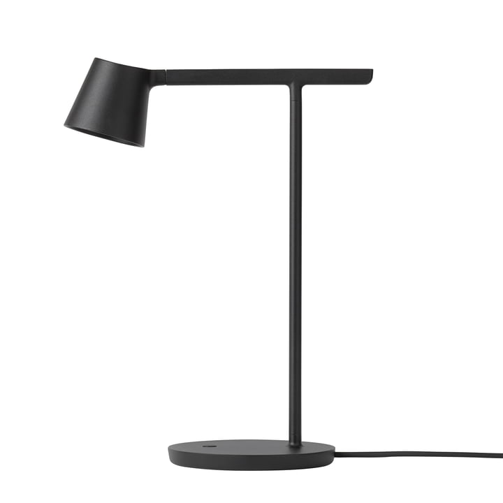 Tip LED Table Lamp by Muuto in Black