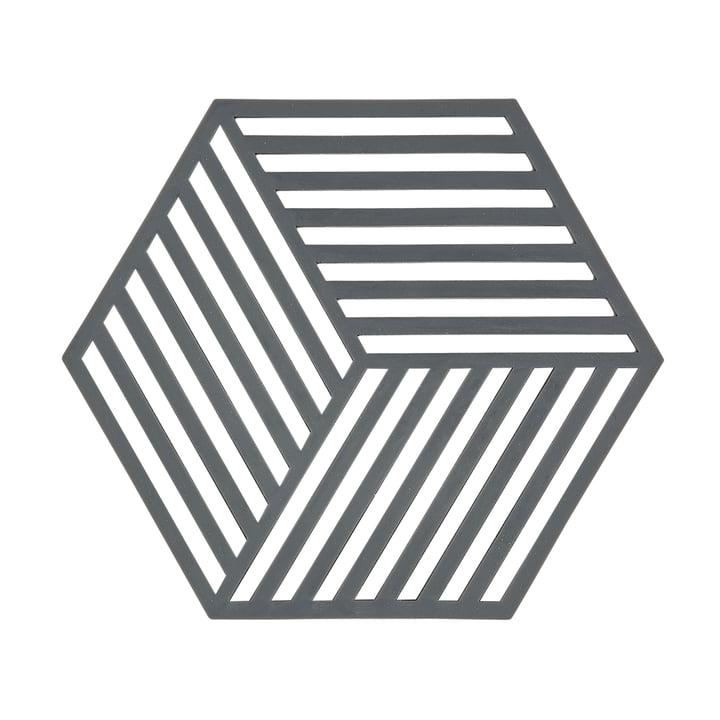 The Zone Denmark - Hexagon coaster in gray