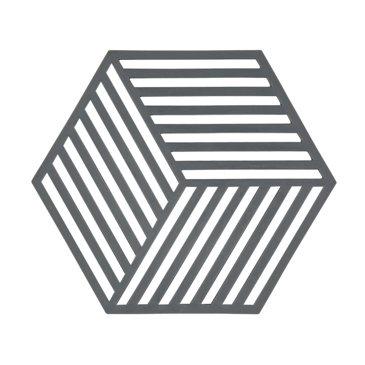 The Zone Denmark - Hexagon Trivet in Grey