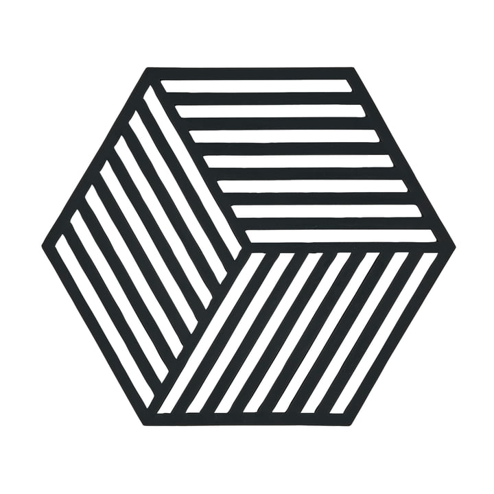 The Zone Denmark - Hexagon Trivet in Black