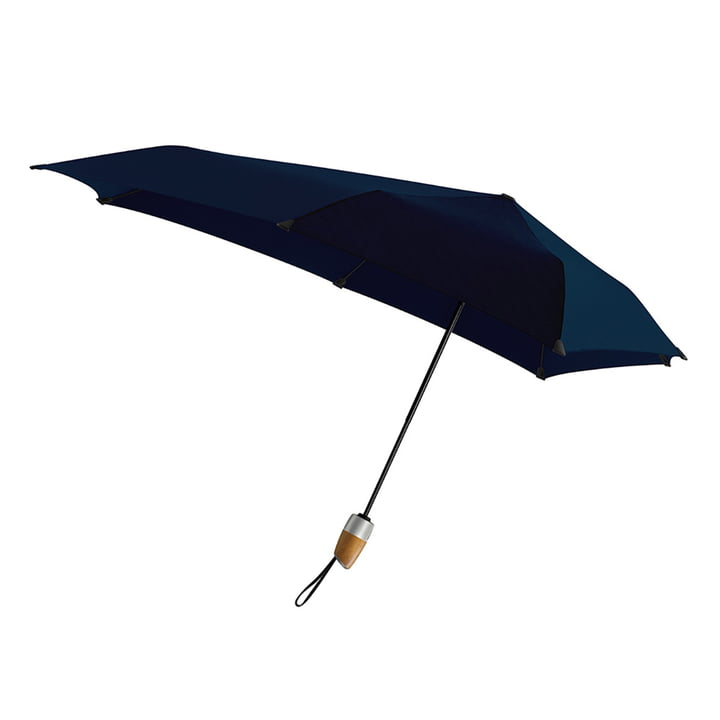 Umbrella Automatic DELUXE by Senz in midnight blue
