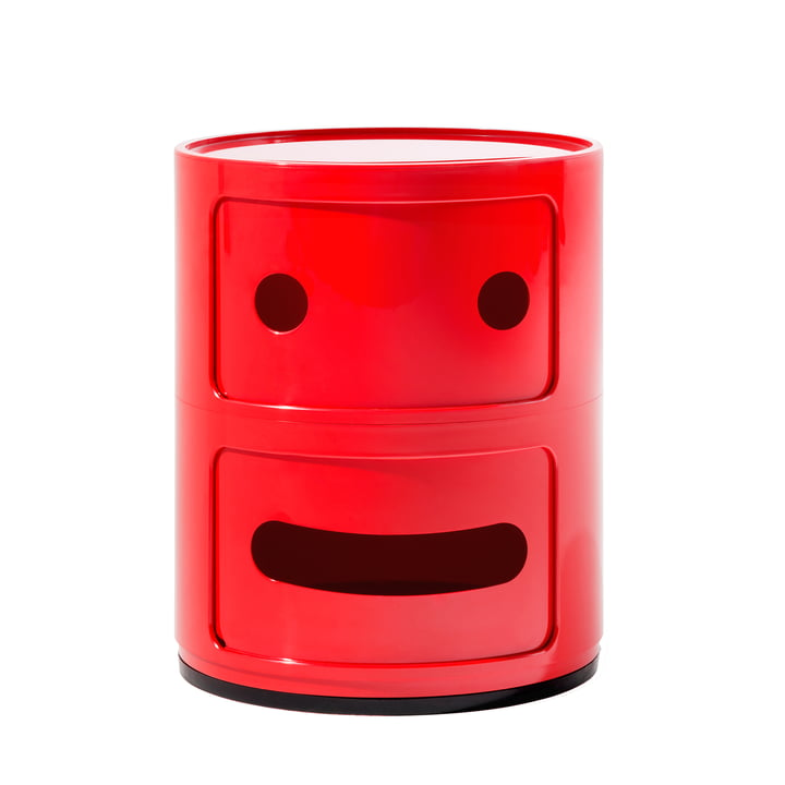 Kartell - Componibili Smile 4925, red