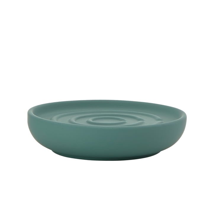 Nova Soap Dish by Zone Denmark in Petrol Green