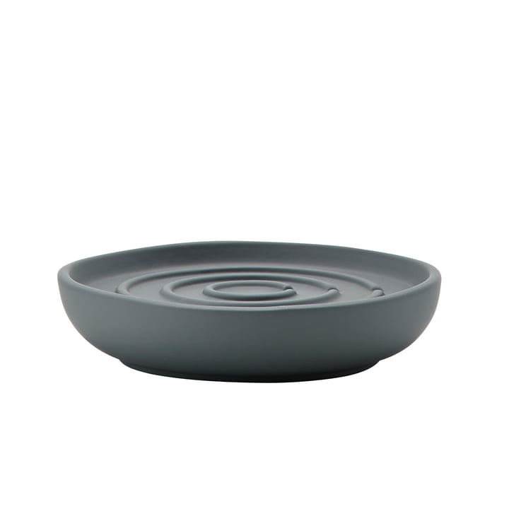 Nova Soap Dish by Zone Denmark in Grey