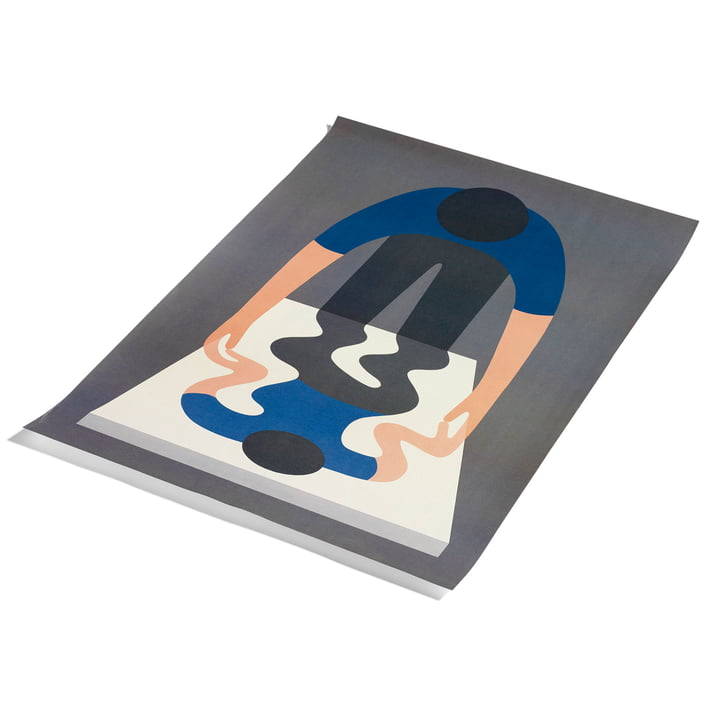 You As A Mirror by Geoff McFetridge Poster 70 x 100 cm by Hay