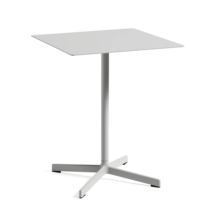 Neu Table 60 x 60 cm by Hay in Light Grey