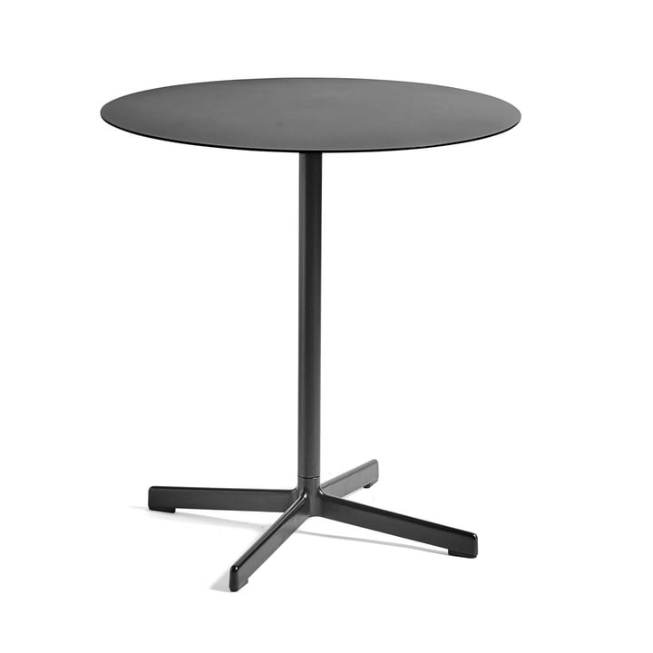 Neu table Ø 70 cm by Hay in Charcoal