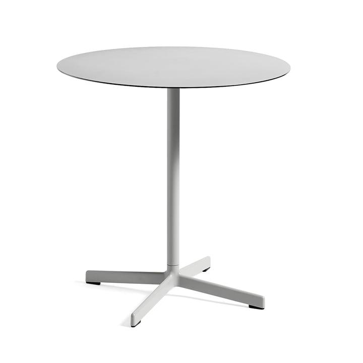 Neu table Ø 70 cm by Hay in Light Grey