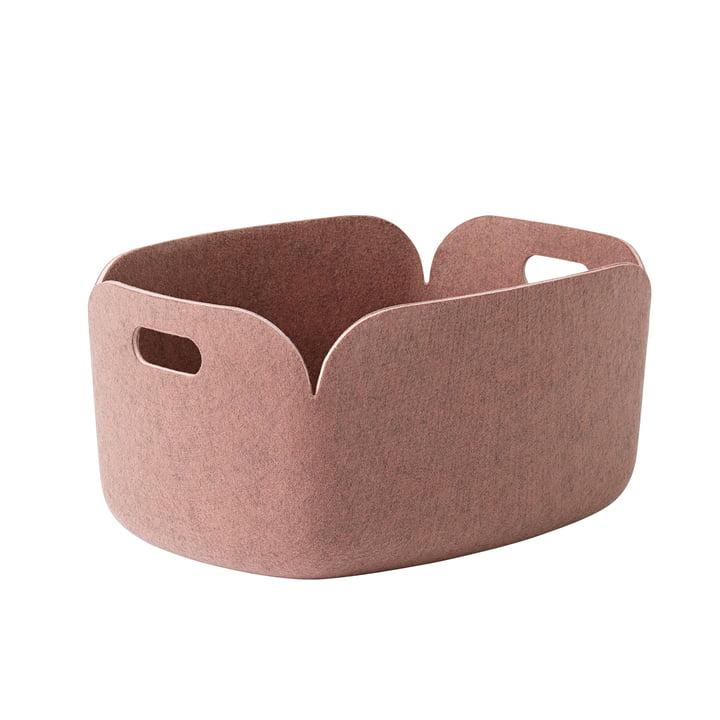 Muuto - Restore Storage Basket, pink