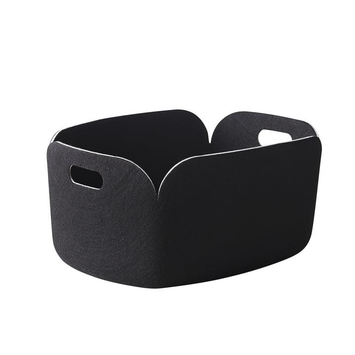 Muuto - Restore Storage Basket, black