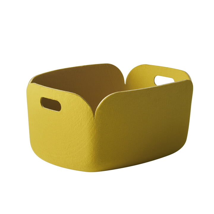 Muuto - Restore Storage Basket, yellow