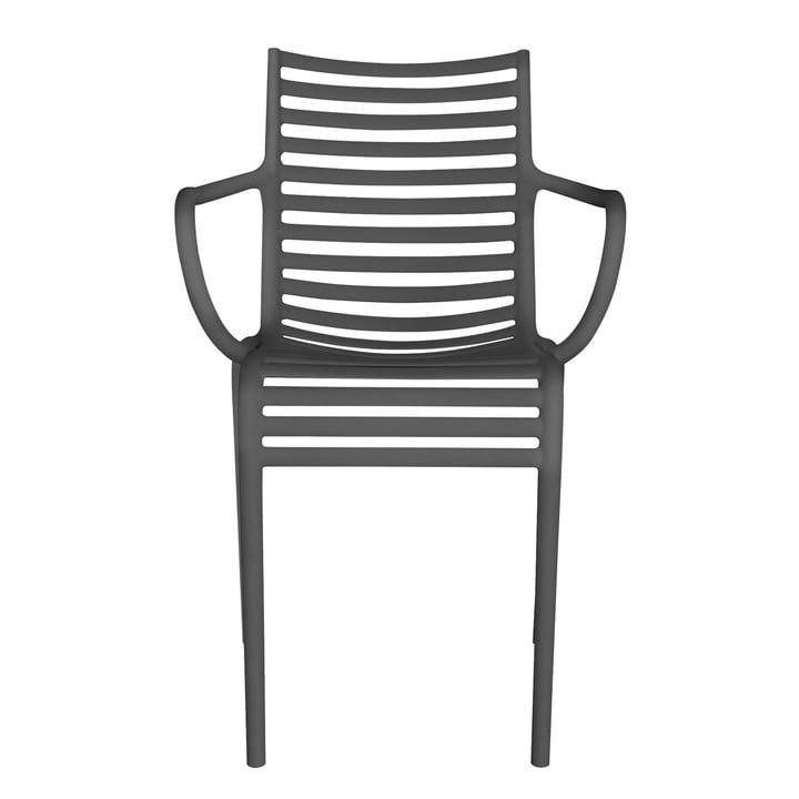 Driade - PIP-e Armchair, dark grey (Pantone 446U)