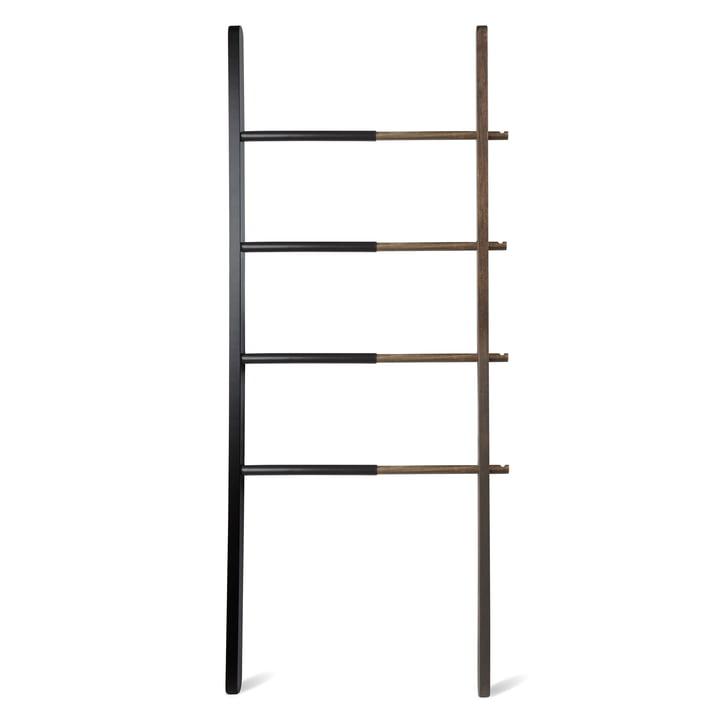 The Umbra - Hub storage ladder in black / walnut