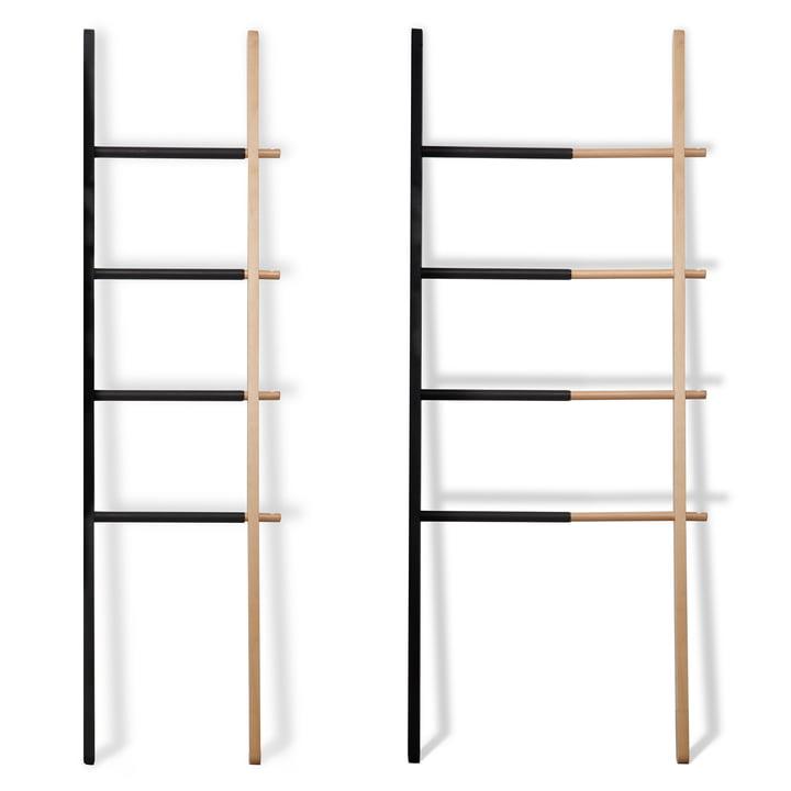 Umbra - Hub Ladder Rack, Black / Natural - Expandable