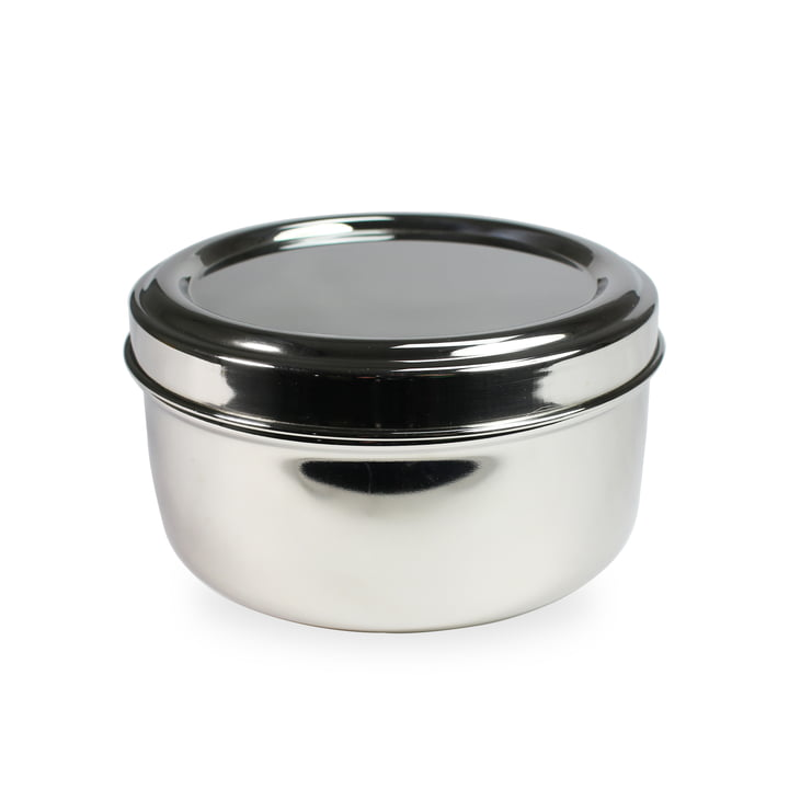 Hay - Steel Lunchbox, Round with Bowl Insert