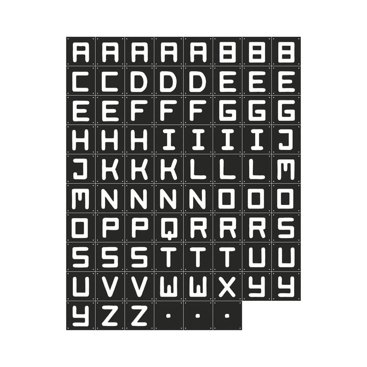 Quotes (Black), 84 x 126 cm by IXXI